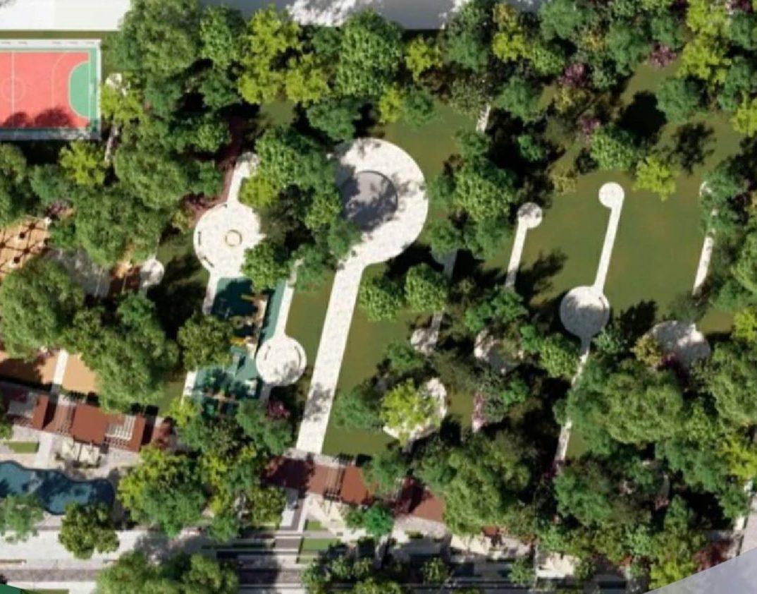 Парк Фрунзе в Новороссийске уже сделали. Правда, пока на макетах и экскизах