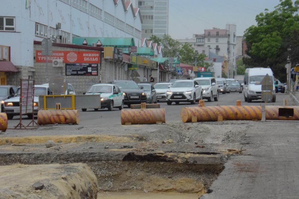 В Новороссийске перерыли улицу Сипягина. Что происходит?