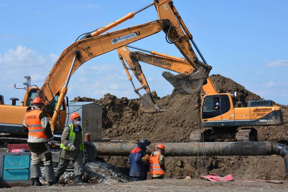 Завершен второй этап реконструкции Троицкого группового водопровода