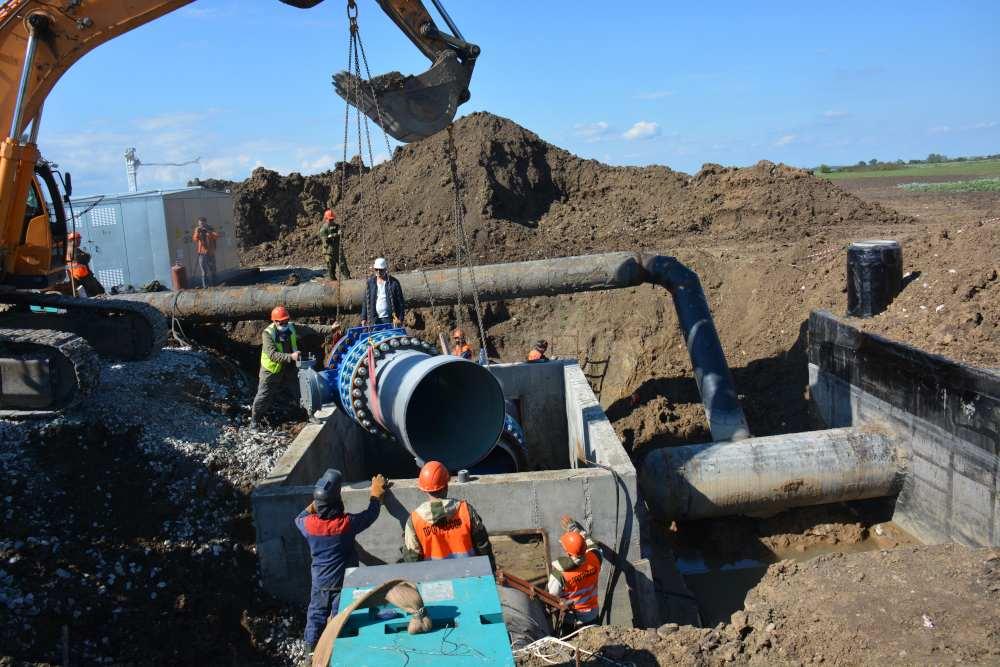 На Кубани заменят еще 11 километров Троицкого группового водовода