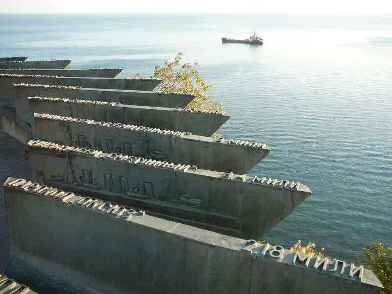 Трагичная история затопления кораблей в Новороссийске