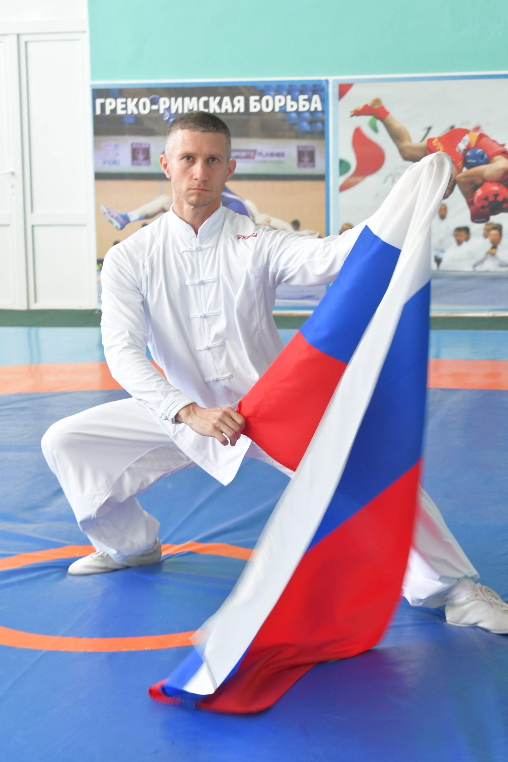 На чемпионате Европы по ушу новороссиец в составе сборной России завоевал два золота