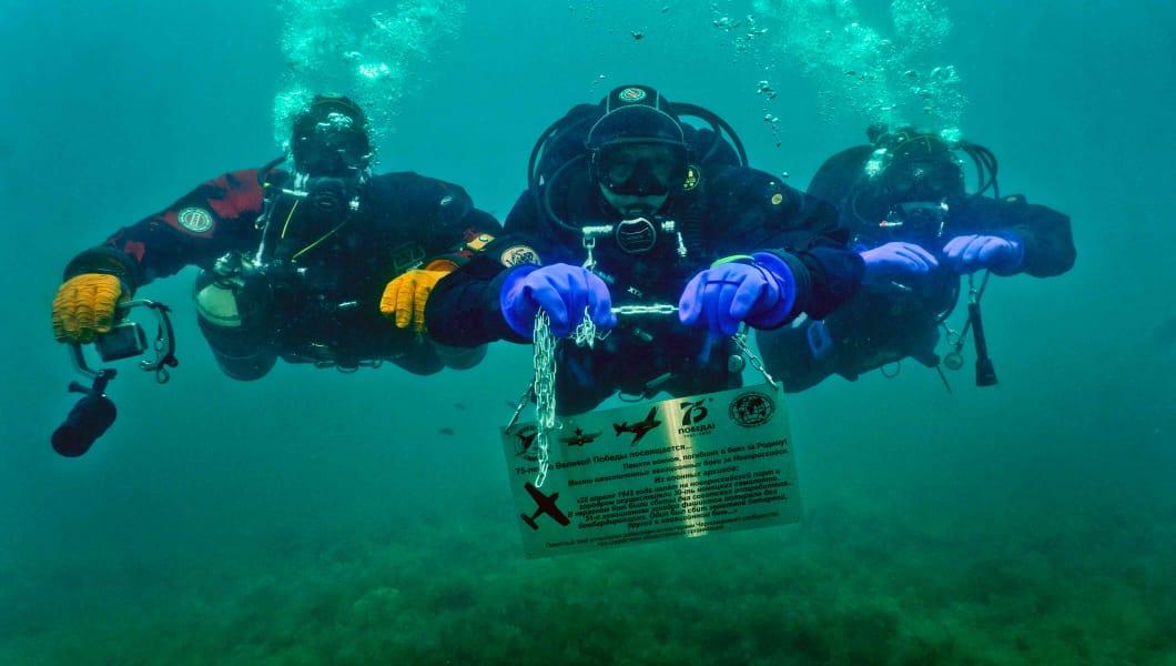 В Черном море открывают подводные мемориалы