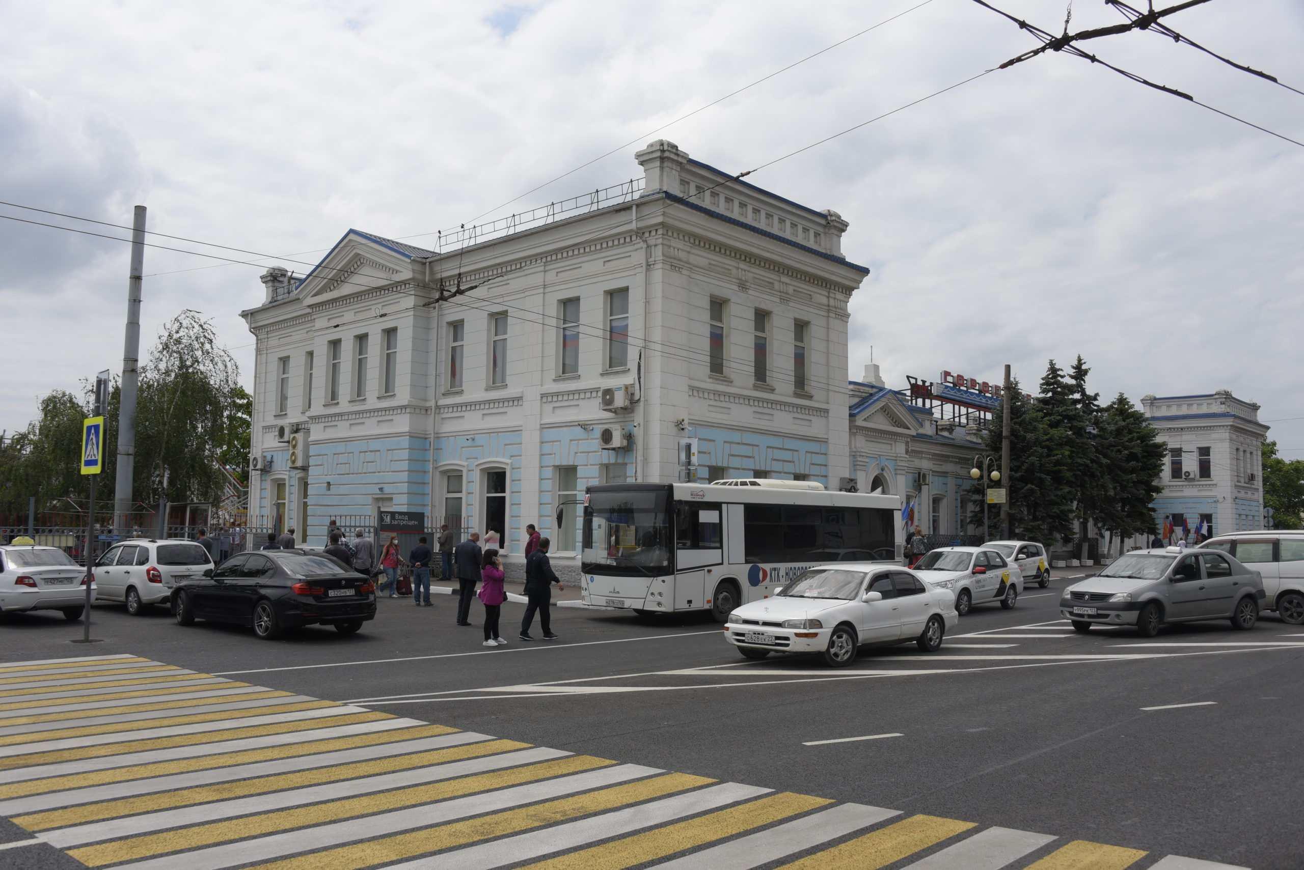 Вокзал Новороссийска встречает приезжих тотальными проверками