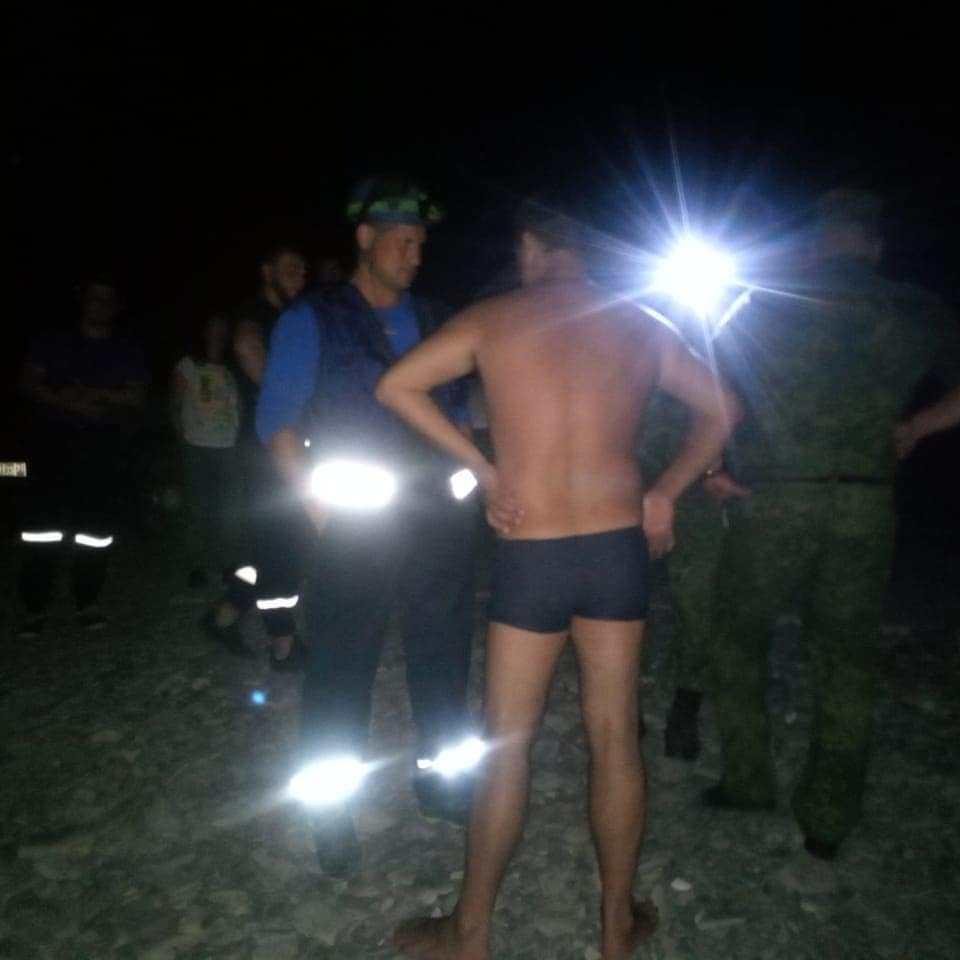 В Новороссийске в море в районе базы отдыха «Лиманчик» пропал мужчина