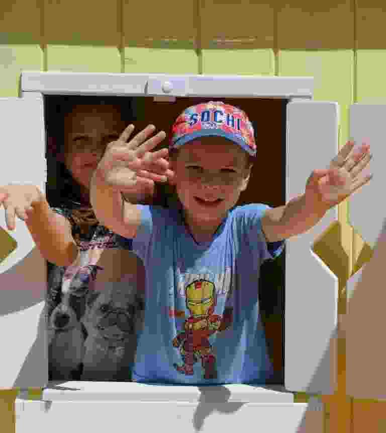 Сельский детский сад Новороссийска получил уличные игровые комплексы
