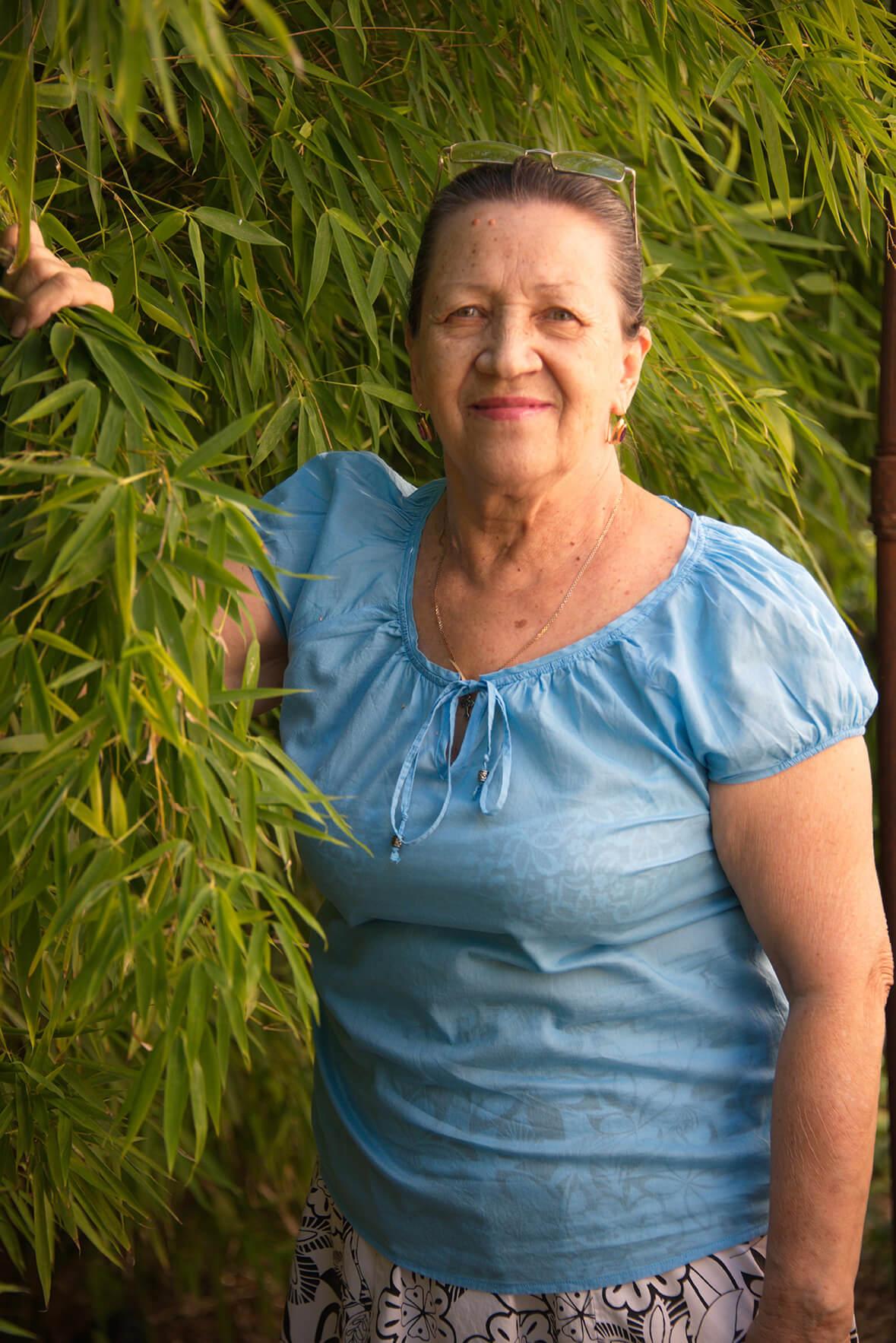 Жительница Новороссийска посадила и вырастила бамбуковую рощу
