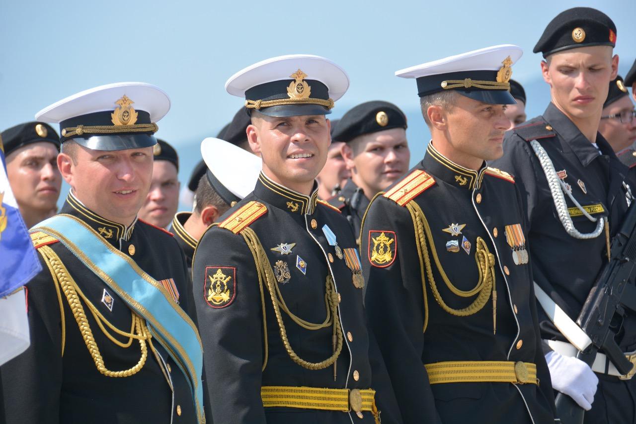 Как новороссийцы отпраздновали день ВМФ