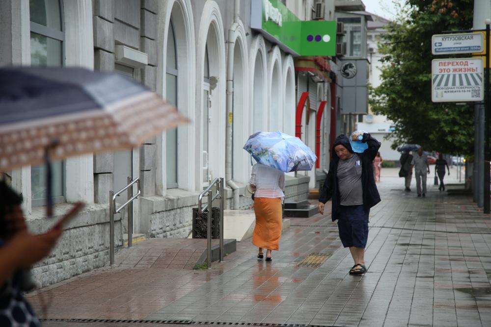 В Новороссийске завтра похолодает и пойдет дождь. Одевайтесь теплее и не забудьте зонт