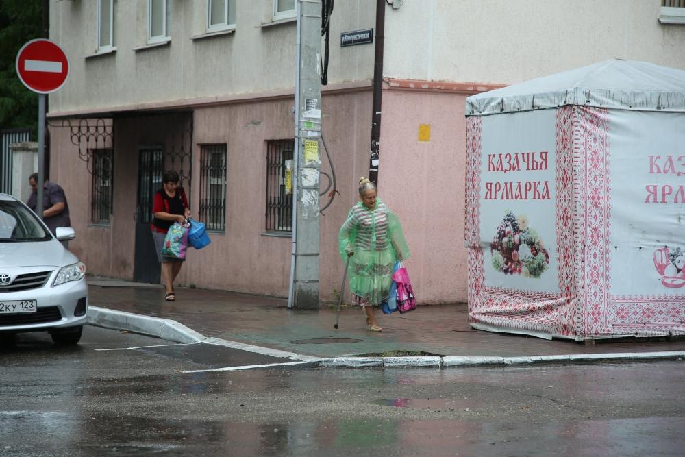 В ночь на 16 августа на Новороссийск выпала двухмесячная норма осадков