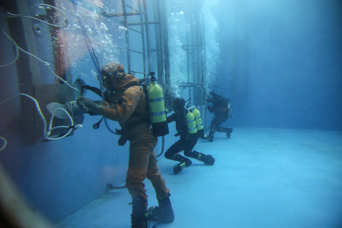 На военно-морской базе в Новороссийске открыли новый учебный центр для моряков-подводников