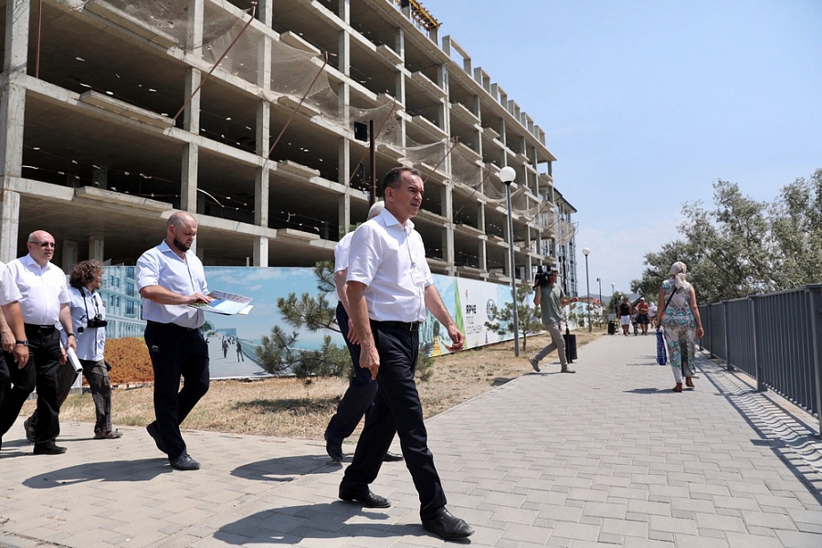 За отсутствие контроля за капитальным строительством глава Анапы покинул свой пост