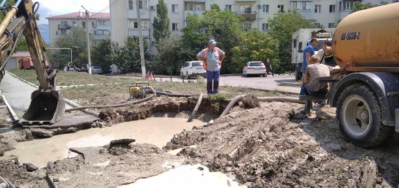 Новороссийцев  волнуют проблемы с водой. Что делается для улучшения ситуации?