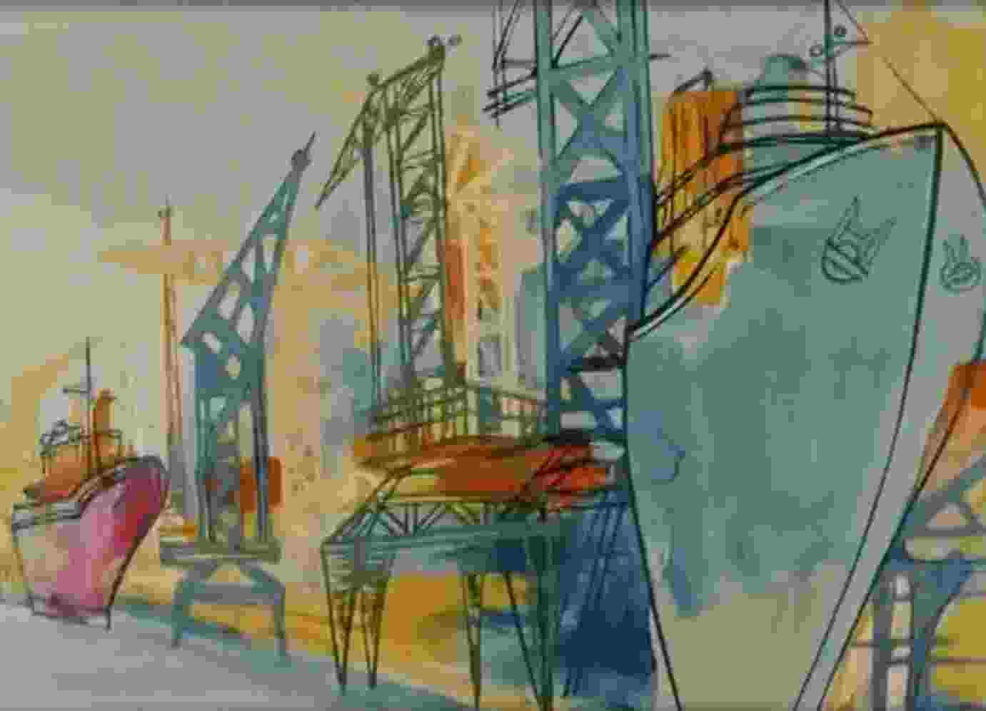 Исполнилось 45 лет известному советскому мультфильму, который посвящен новороссийскому порту