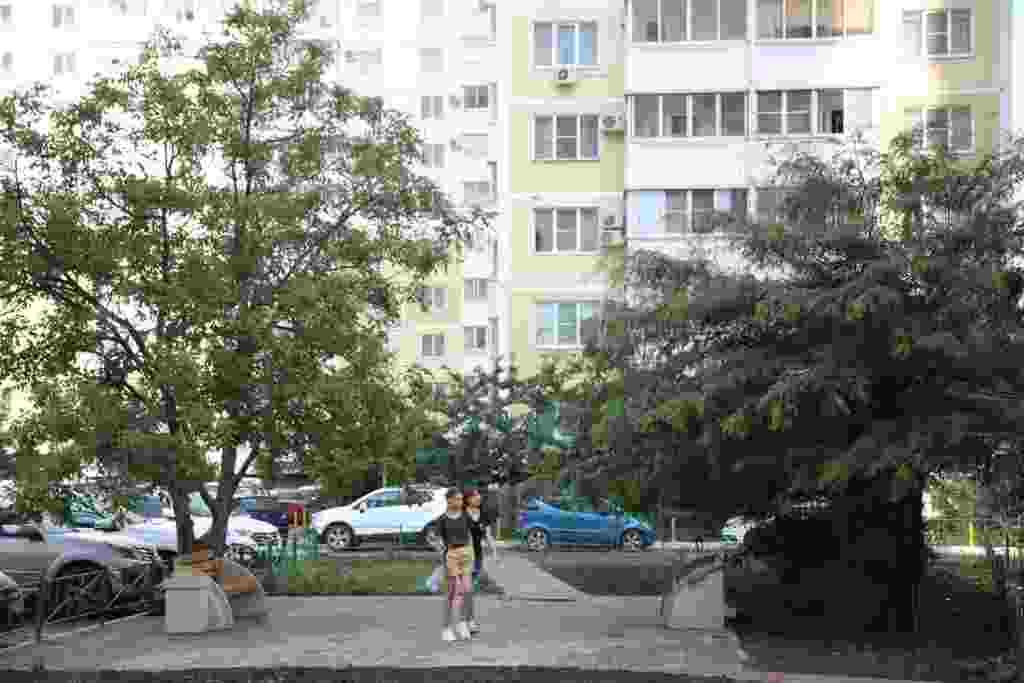 Жители многоэтажек стали инициаторами открытия сквера на Анапском шоссе в Новороссийске