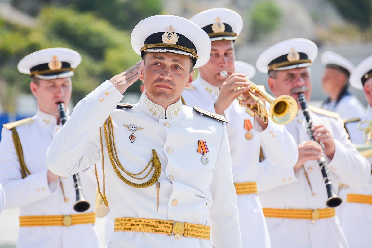Новороссийцы отпраздновали день ВМФ