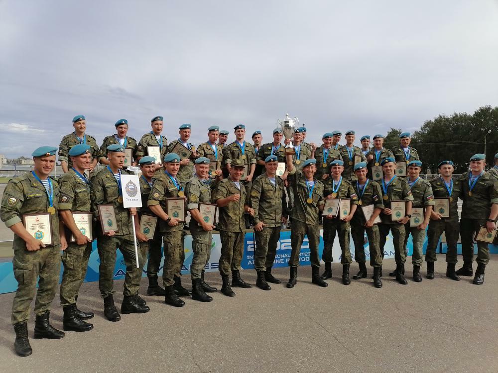 Новороссийские десантники стали лучшими в соревнованиях «Десантный взвод-2020»