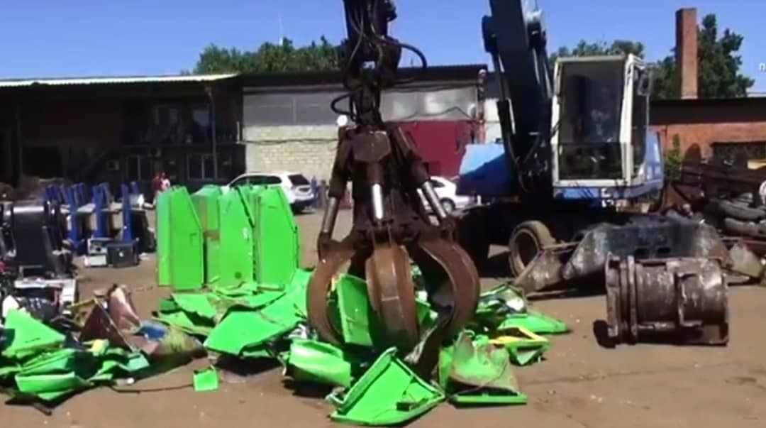 В Новороссийске продолжают уничтожать игровые автоматы