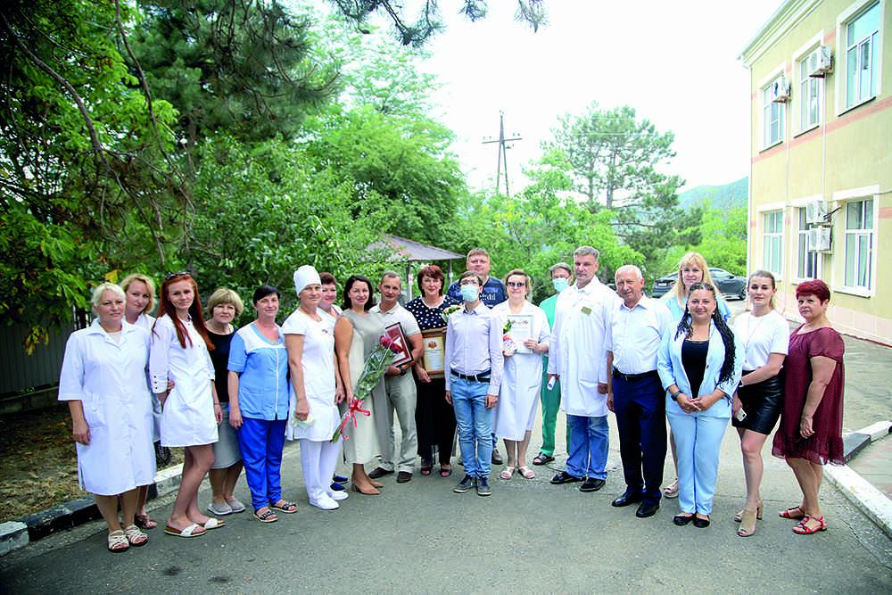 Под Новороссийском в Абрау-Дюрсо сельская медицина получила мощный толчок к развитию
