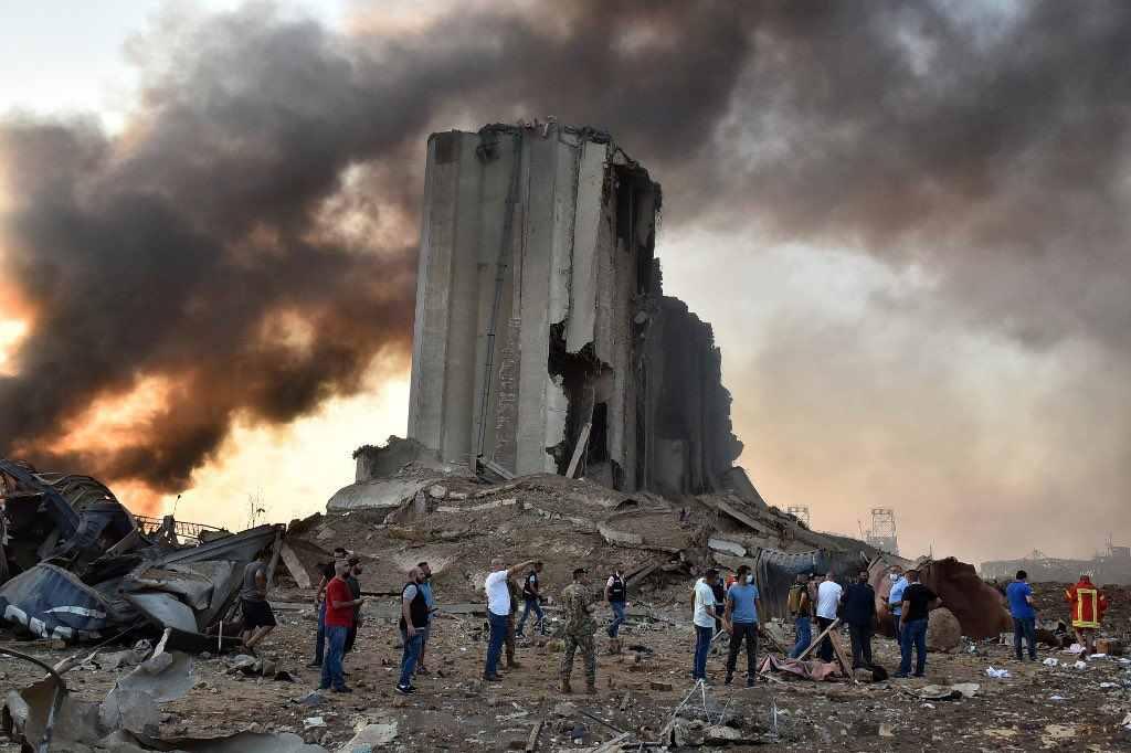 Взрыв в Бейруте. Селитру привезли россияне?
