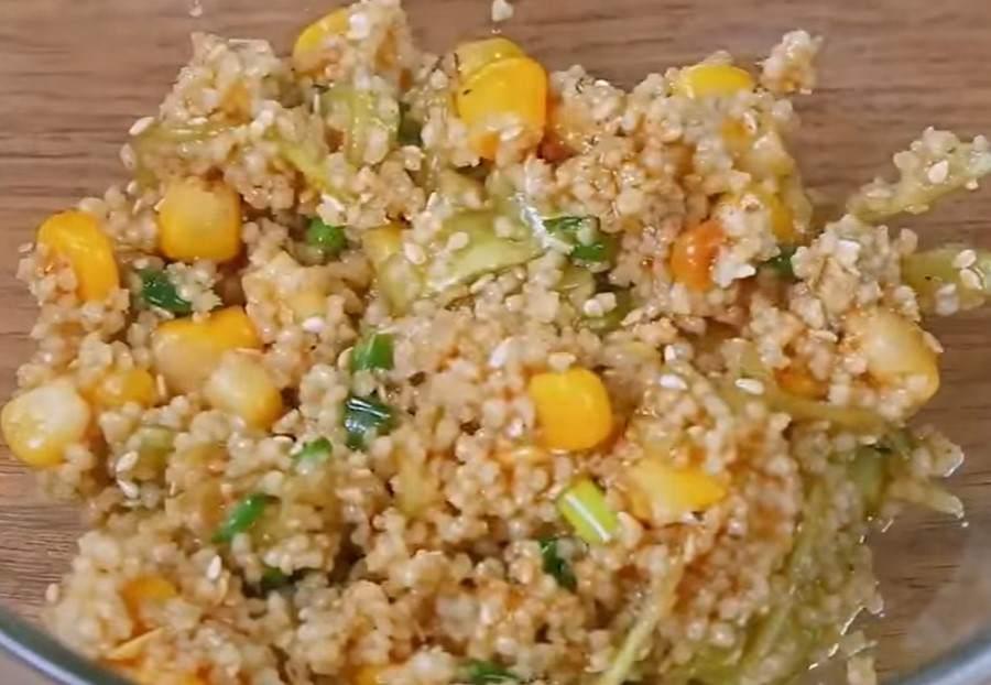 Ужин за 10 минут: готовим кускус с огурцами