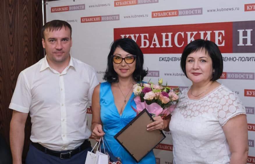 Единственное «Золотое перо Кубани-2019″ работает в «Новороссийском рабочем»