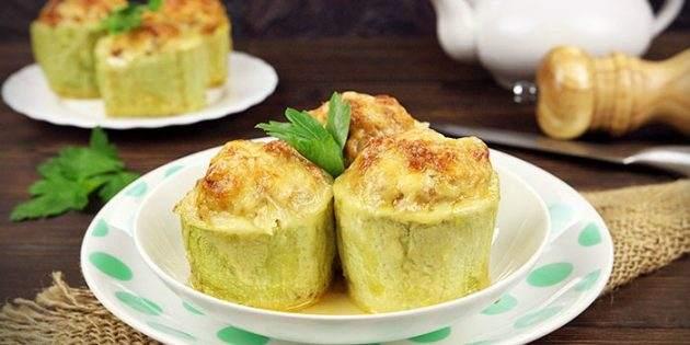 Кабачки — идеальный овощ для худеющих. Легкий рецепт легкого ужина