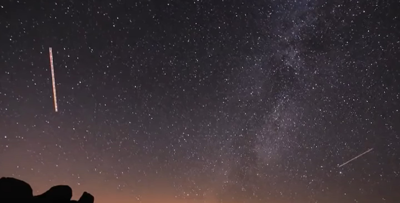 Новороссийцы, самое время посмотреть в небо (уникальное видео Персеид)