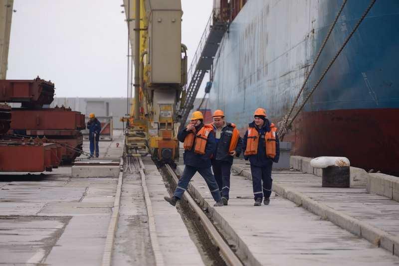 В порту за девять месяцев этого года упал  грузооборот