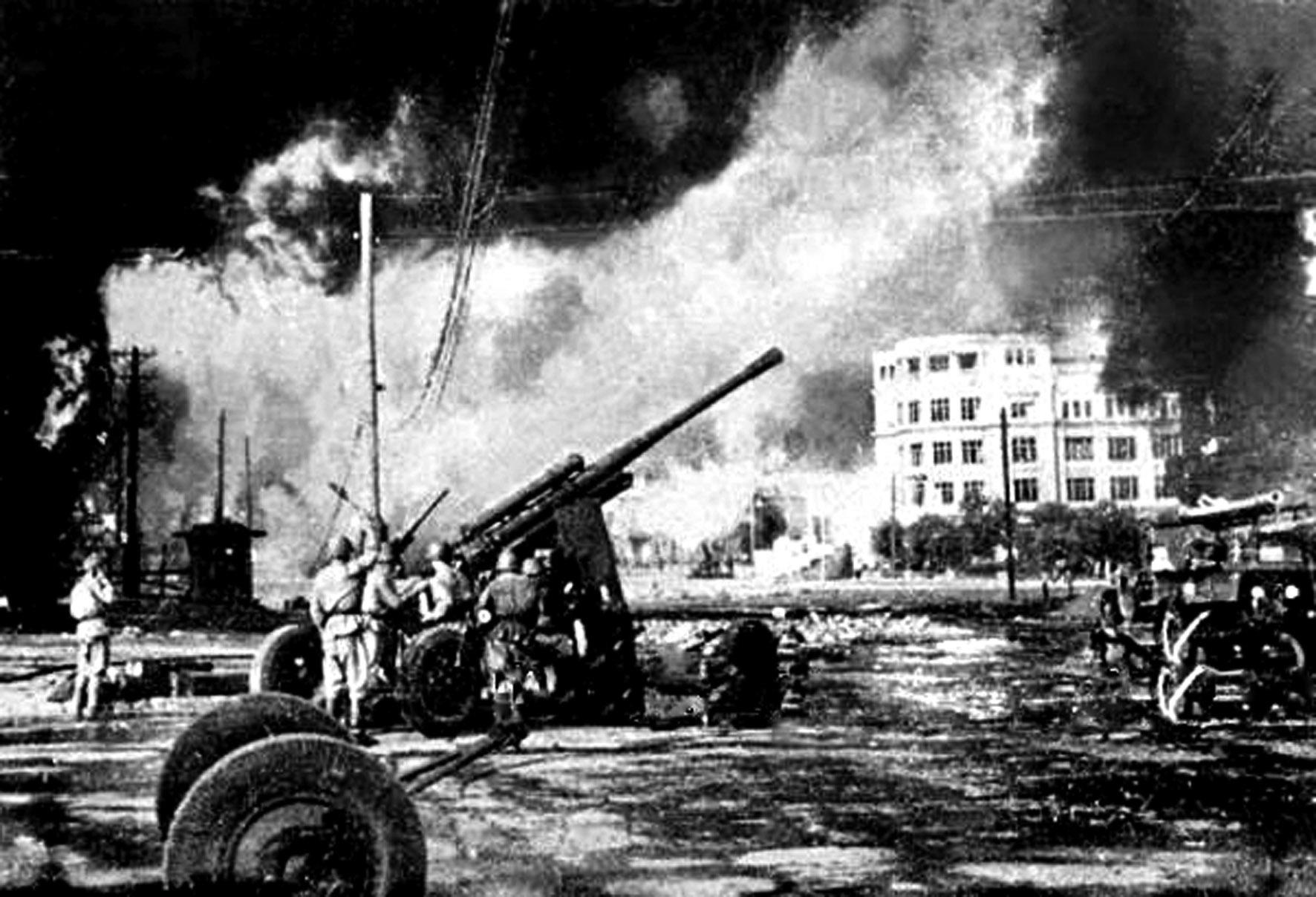 Шесть суток потребовалось Новороссийску для Победы