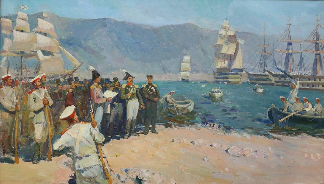 Для Новороссийска все начиналось  с высадки десанта в Суджукскую бухту