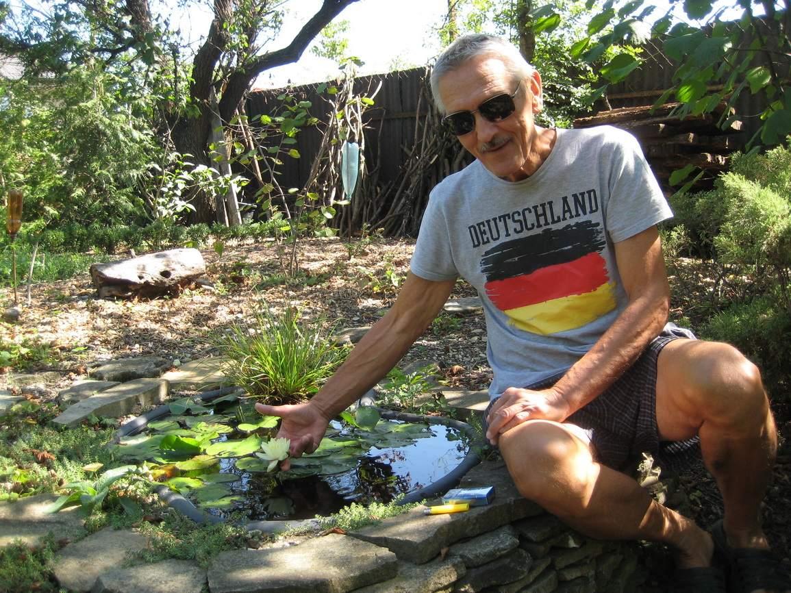 Новороссиец создал на своем участке сорок прудов. И делится советами