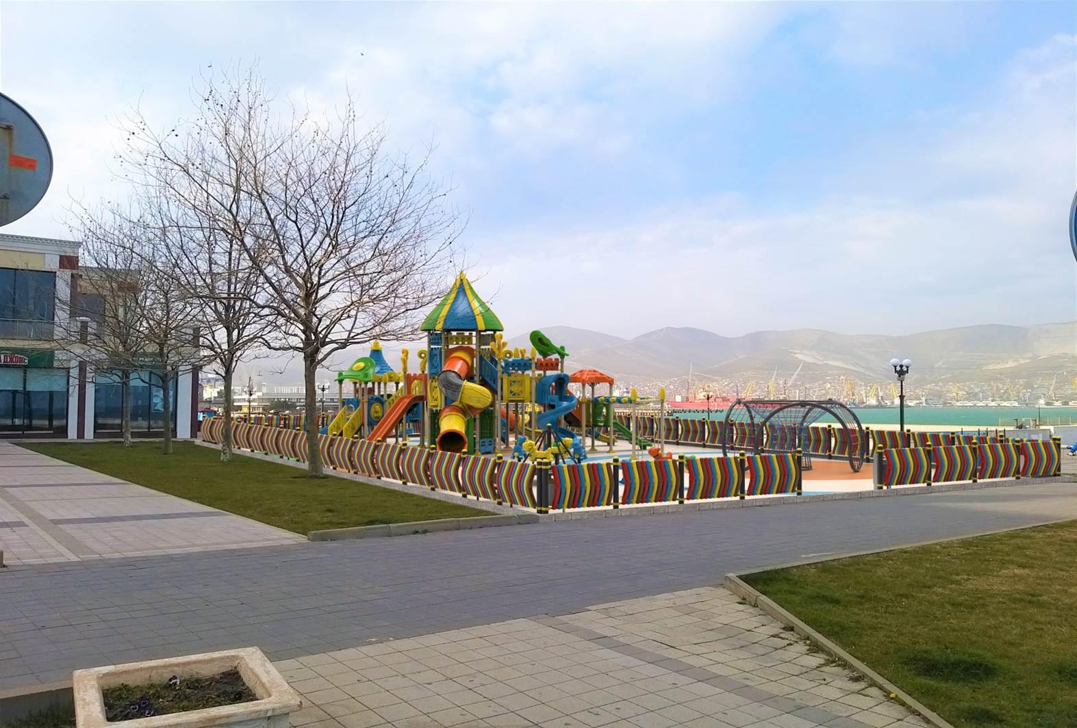 В Новороссийске на набережной создадут зону для отдыха детей