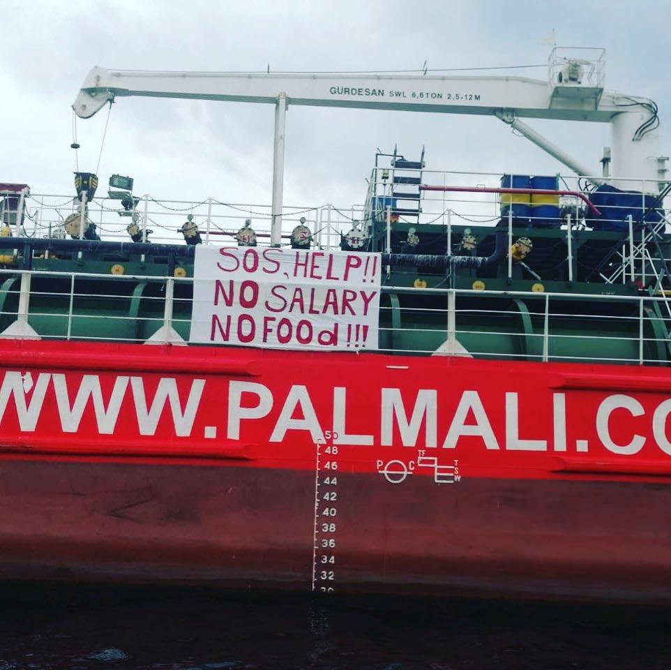 Ситуацию, в которую попали брошенные в водах Турции моряки, проверит Следственный комитет РФ