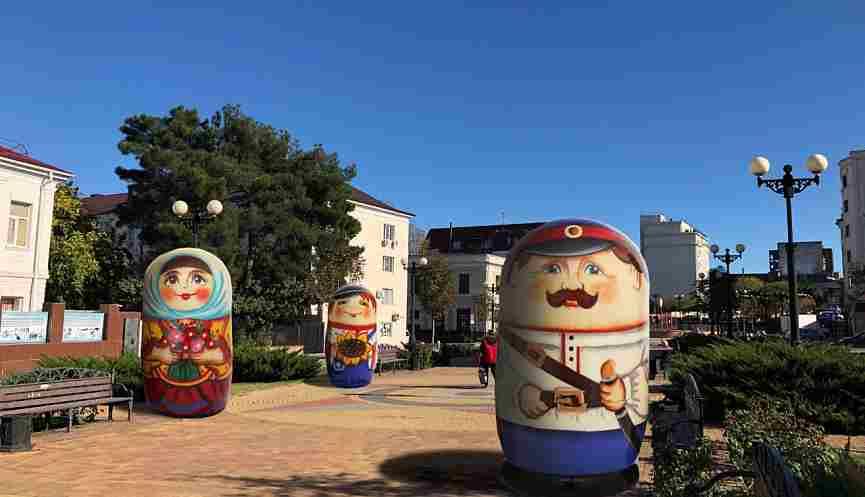 В Новороссийске могут появиться гигантские матрешки