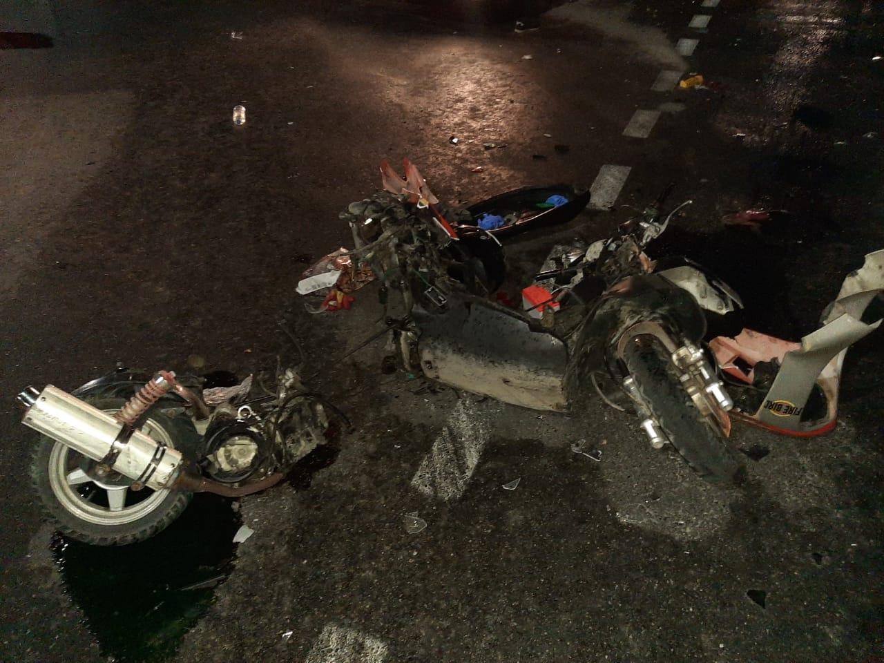В Новороссийске водитель мотоцикла сбил водителя мопеда. Мопедист погиб