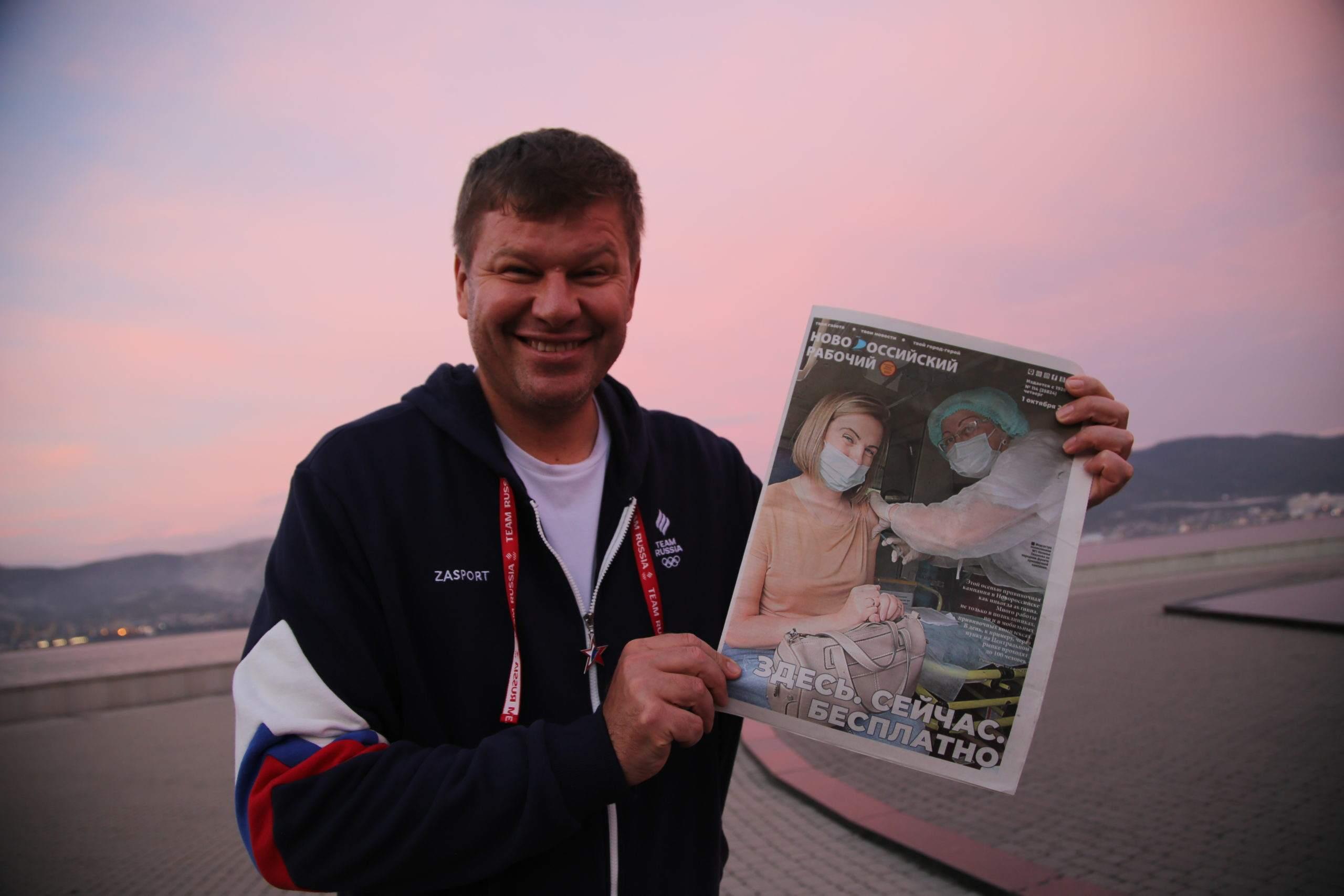 Дмитрий Губерниев признался «НР», что он «на 3ОЖе, на стиле, на сексе!»