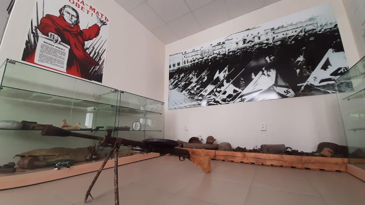 Под Новороссийском открылась выставка раритетов военного времени