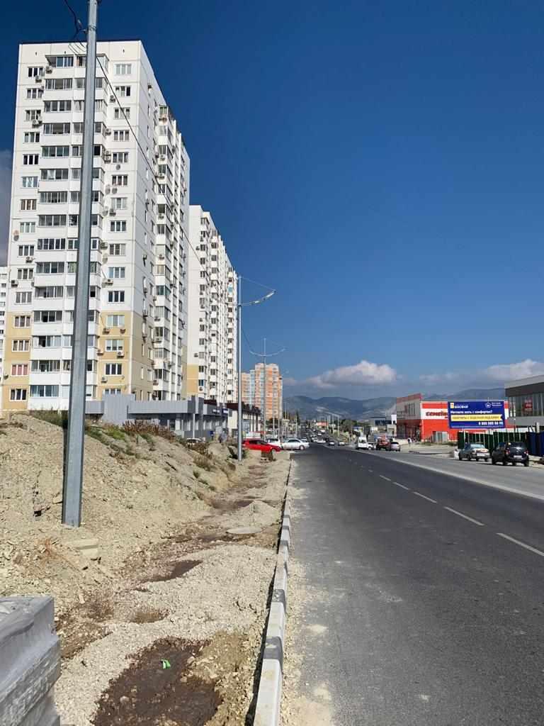 В Южном районе Новороссийска обустроят тротуары для безопасности пешеходов. Где еще такие нужны?