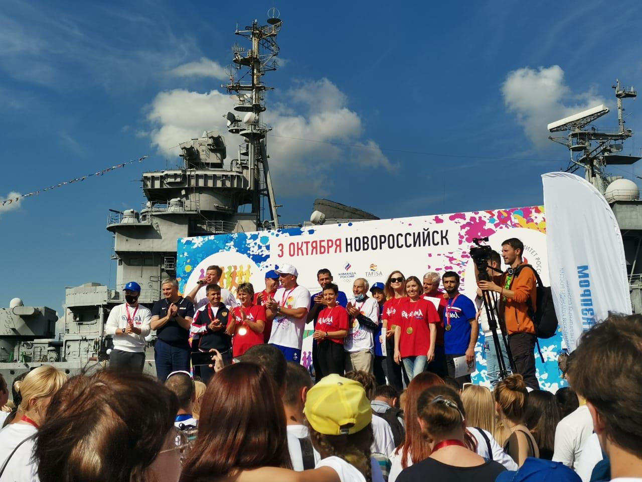 В Новороссийск съехалась мировая спортивная элита и легендарный комментатор Дмитрий Губерниев