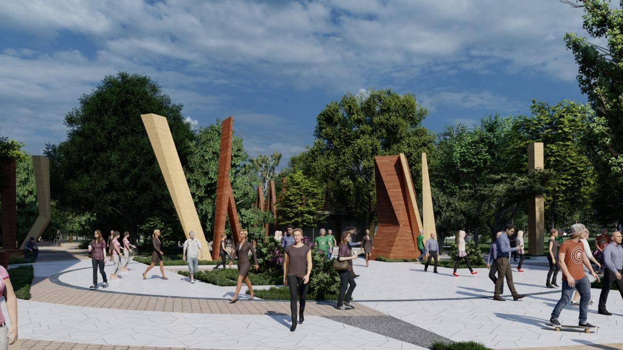 Из парка Фрунзе в Новороссийске уберут все аттракционы, но добавят выставочную галерею, сцену с амфитеатром и деревья