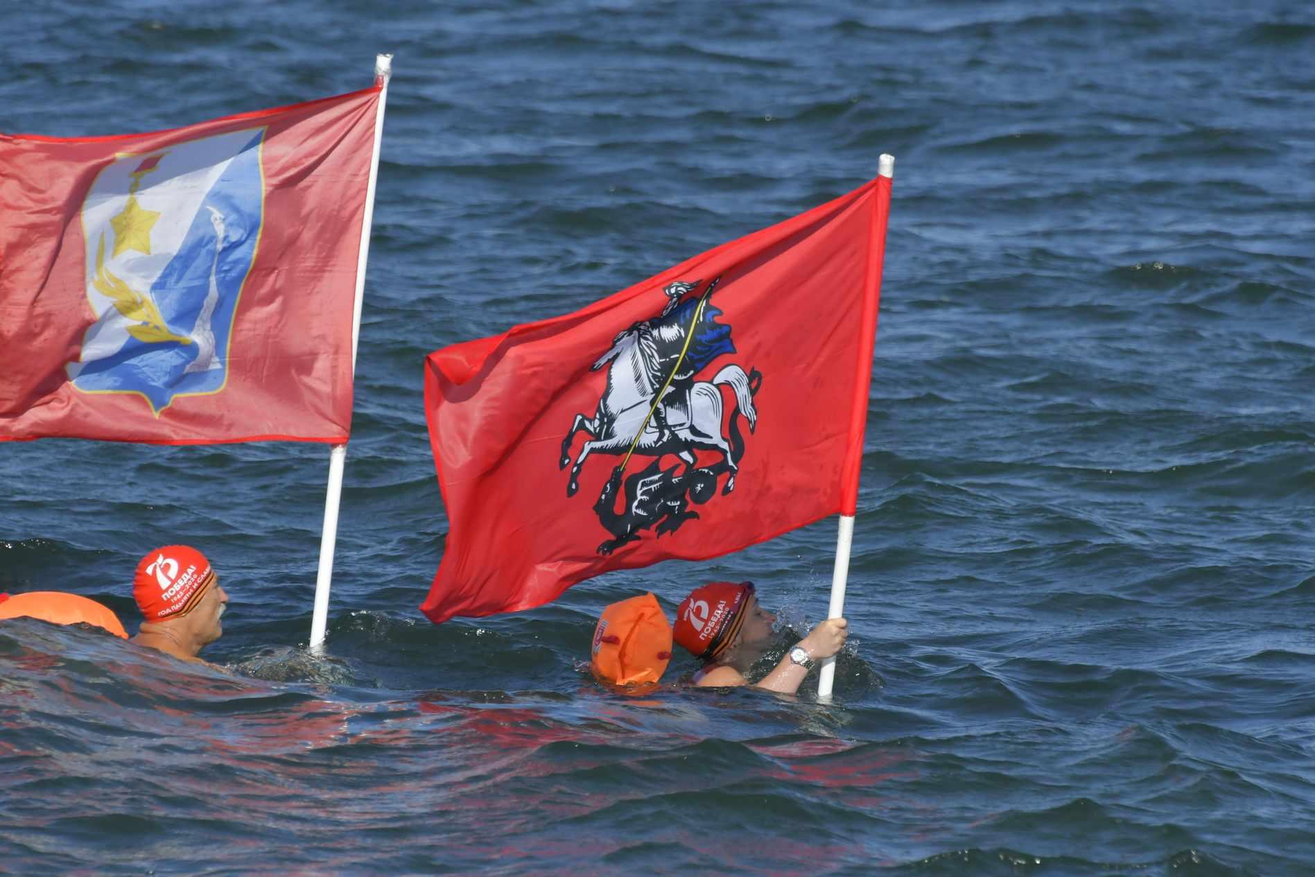 Завершился заплыв экстремалов-моржей от Новороссийска до Севастополя