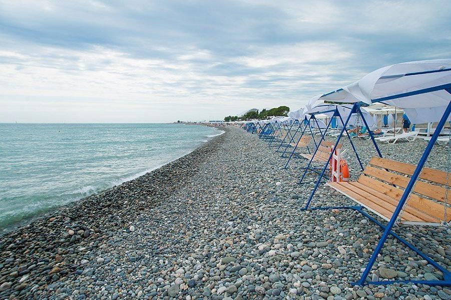В курортных городах Краснодарского края оборудуют «зимние пляжи»
