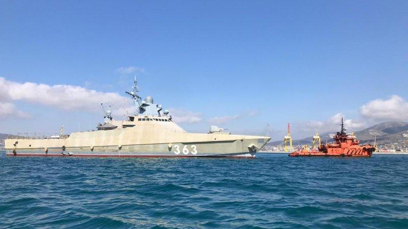 В Новороссийске в пятницу поднимут флаг на новом патрульном корабле «Павел Державин»