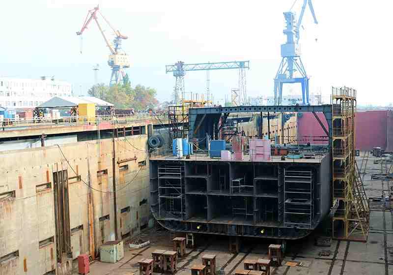 На Новороссийском судоремонтном заводе впервые за многие годы вернутся к судостроению