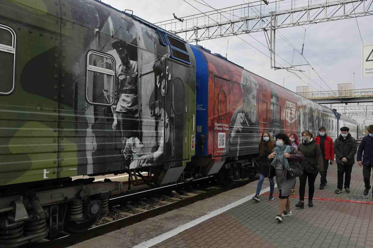 В Новороссийск прибыл Поезд Победы
