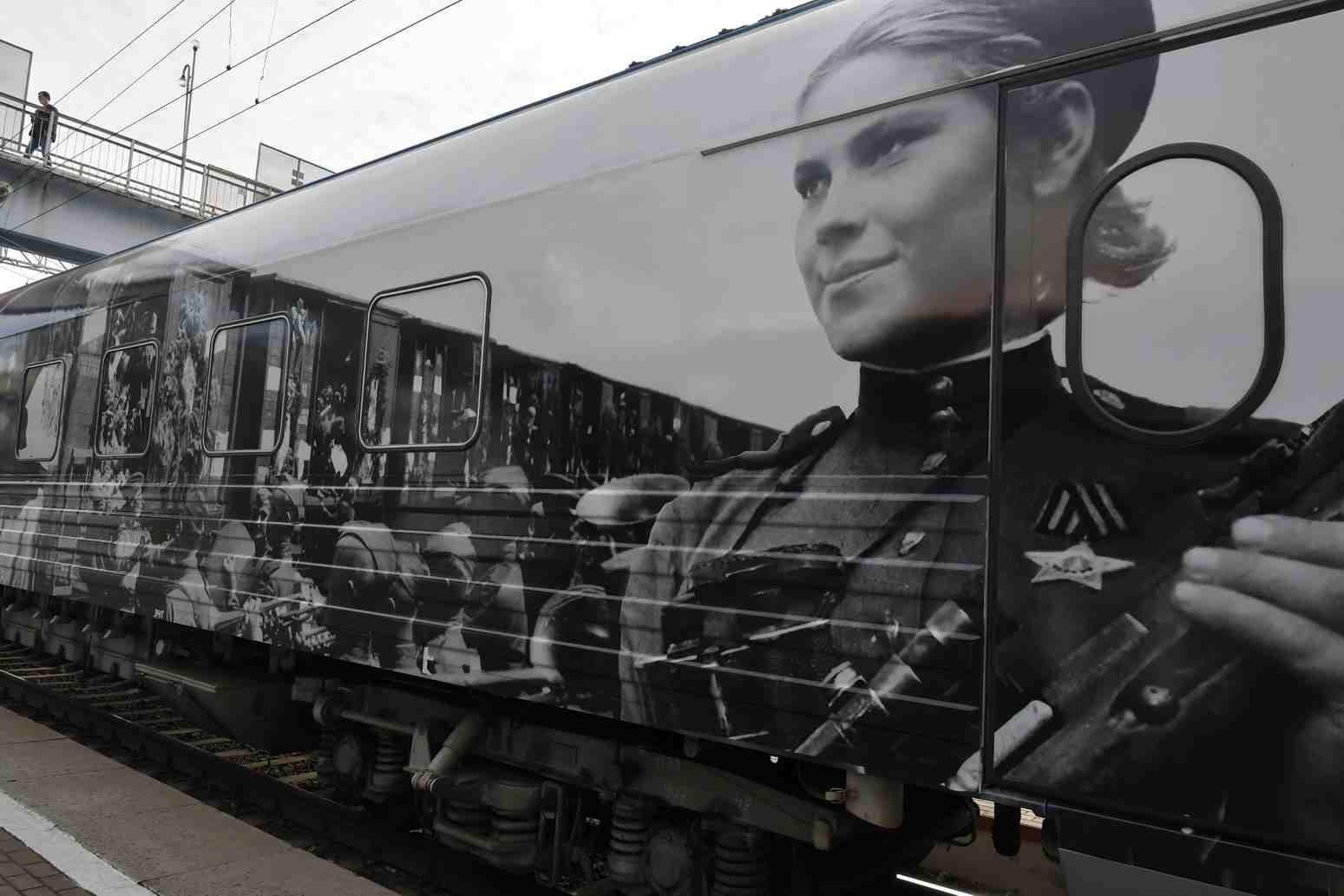 Поезд Победы в Новороссийске