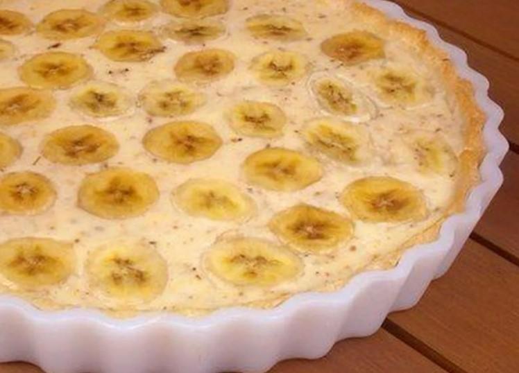Десерт из микроволновки: банановый пудинг