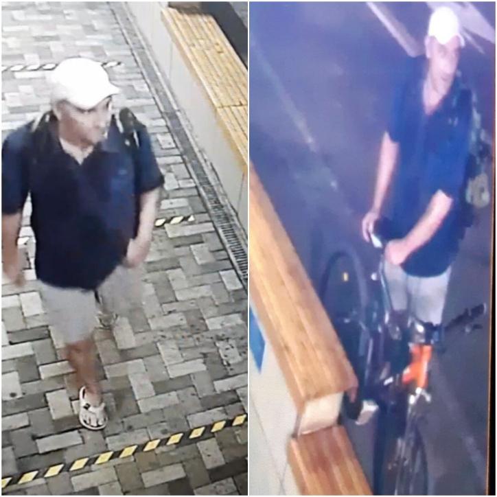 В Новороссийске разыскивают мужчину, который забирал велосипеды с детских площадок