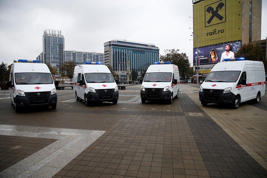 Новороссийску подарили новую машину скорой помощи